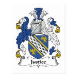 Escudo de la familia de la justicia postal