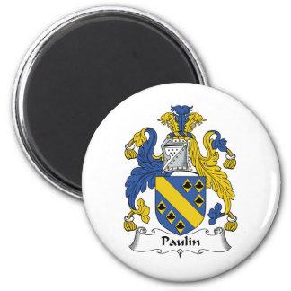 Escudo de la familia de la lona imanes