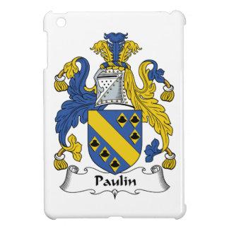 Escudo de la familia de la lona iPad mini carcasa
