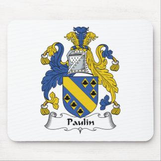 Escudo de la familia de la lona tapete de ratones