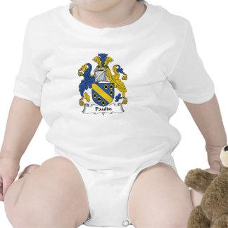 Escudo de la familia de la lona trajes de bebé