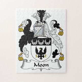 Escudo de la familia de la luna puzzle