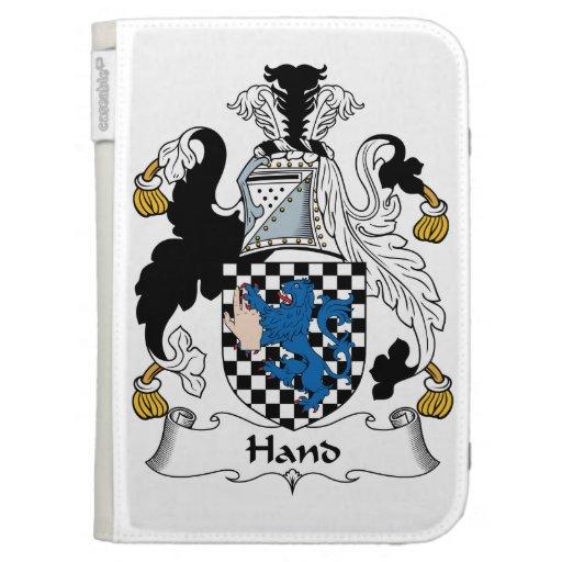 Escudo de la familia de la mano