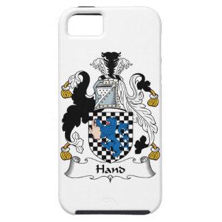 Escudo de la familia de la mano iPhone 5 Case-Mate fundas