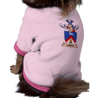 Escudo de la familia de la máquina para hacer chor camisas de perritos