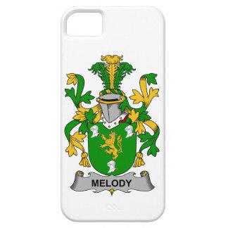 Escudo de la familia de la melodía iPhone 5 cobertura
