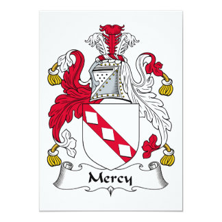Escudo de la familia de la misericordia anuncio