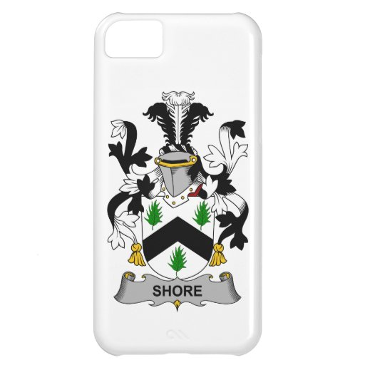 Escudo de la familia de la orilla funda para iPhone 5C