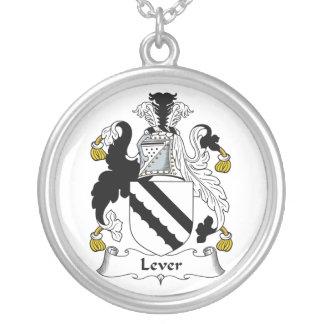 Escudo de la familia de la palanca grimpola personalizada