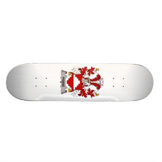 Escudo de la familia de la pandilla tabla de patinar
