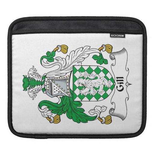 Escudo de la familia de la papada funda para iPads