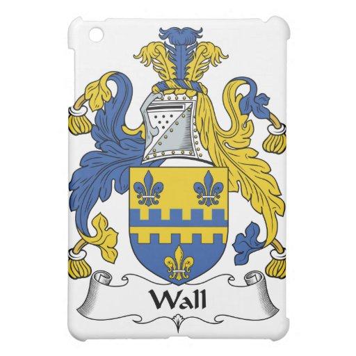 Escudo de la familia de la pared
