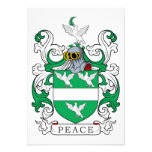 Escudo de la familia de la paz