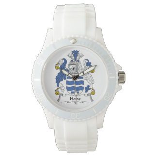 Escudo de la familia de la piedra de afilar relojes de mano