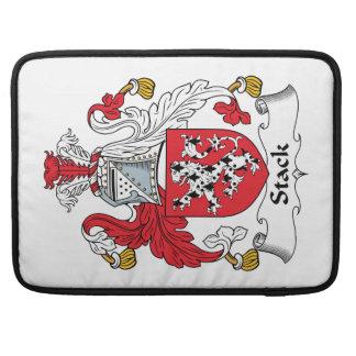 Escudo de la familia de la pila fundas macbook pro