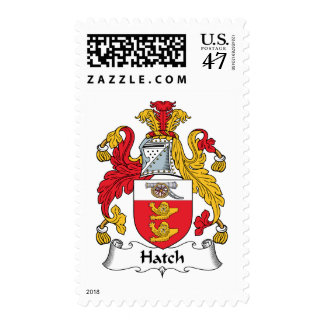 Escudo de la familia de la portilla sellos postales