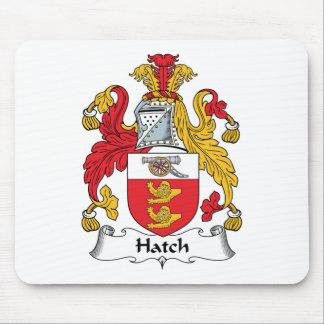 Escudo de la familia de la portilla tapetes de ratones