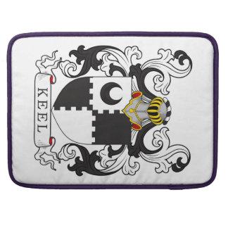 Escudo de la familia de la quilla funda para macbooks