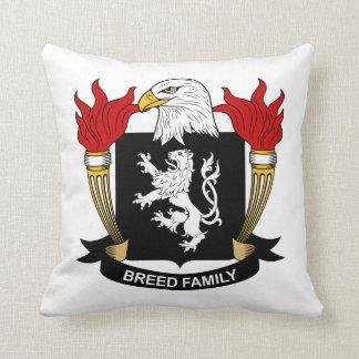 Escudo de la familia de la raza cojin