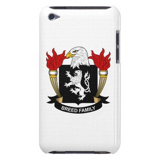 Escudo de la familia de la raza iPod Case-Mate carcasa