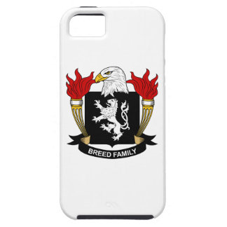 Escudo de la familia de la raza iPhone 5 Case-Mate cárcasas
