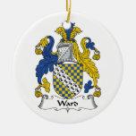 Escudo de la familia de la sala ornamentos de reyes