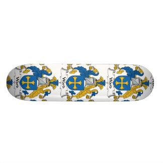 Escudo de la familia de la sala skateboards
