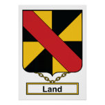 Escudo de la familia de la tierra posters