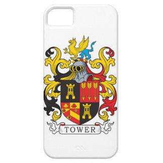 Escudo de la familia de la torre iPhone 5 Case-Mate cárcasa