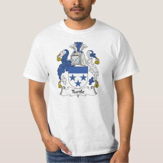 Escudo de la familia de la tortuga camisas