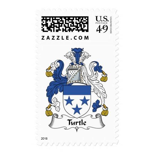 Escudo de la familia de la tortuga sello