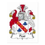 Escudo de la familia de la turba postal