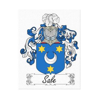 Escudo de la familia de la venta impresiones en lienzo estiradas