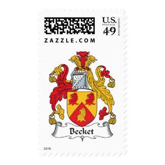 Escudo de la familia de la vinatera sello