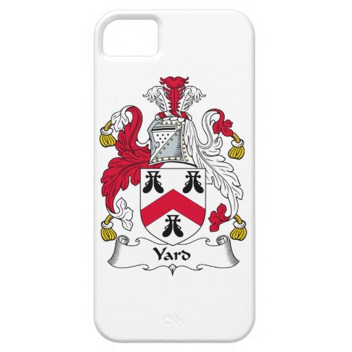 Escudo de la familia de la yarda iPhone 5 Case-Mate carcasa