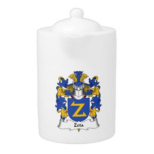 Escudo de la familia de la zeta