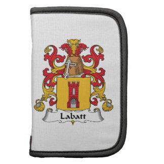 Escudo de la familia de Labatt Organizadores