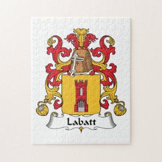 Escudo de la familia de Labatt Puzzles Con Fotos