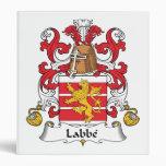 Escudo de la familia de Labbe