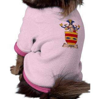 Escudo de la familia de Laber Camisetas Mascota