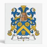 Escudo de la familia de Laborde