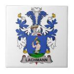 Escudo de la familia de Lachmann Azulejo