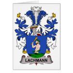Escudo de la familia de Lachmann Tarjetas