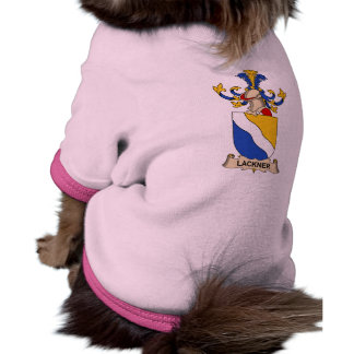 Escudo de la familia de Lackner Camiseta De Perrito