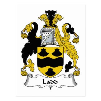 Escudo de la familia de Ladd Tarjetas Postales