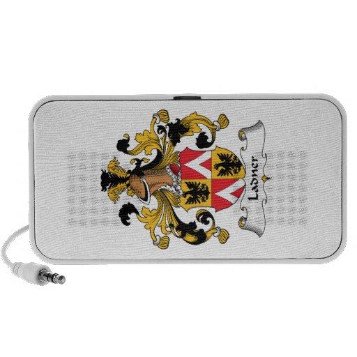 Escudo de la familia de Ladner iPod Altavoces