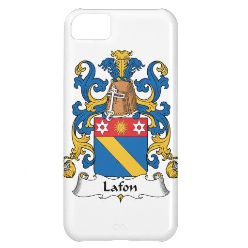 Escudo de la familia de Lafon Funda Para iPhone 5C