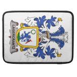 Escudo de la familia de Lagercrantz Fundas Para Macbooks