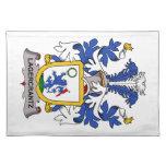 Escudo de la familia de Lagercrantz Mantel Individual