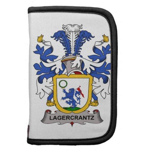 Escudo de la familia de Lagercrantz Organizador